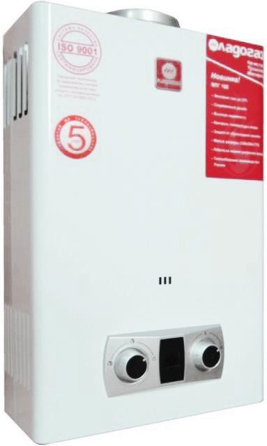 Ладогаз ВПГ 10 E – лучшая газовая колонка российского производства