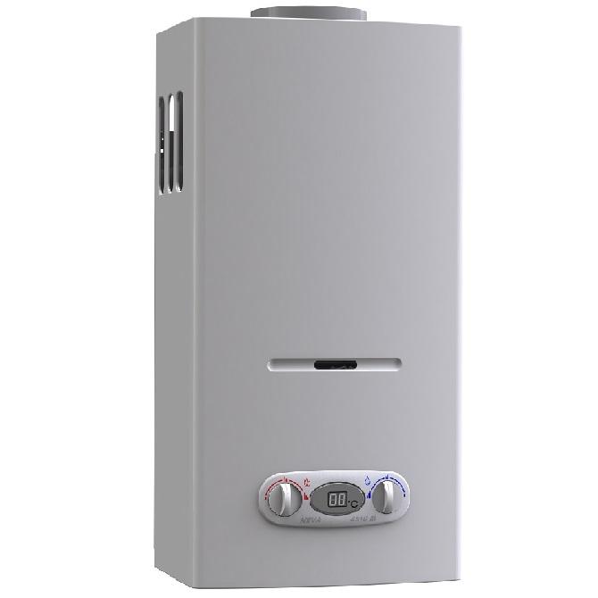 Нева 4510-М – лучшая газовая колонка с автоматической регулировкой температуры воды