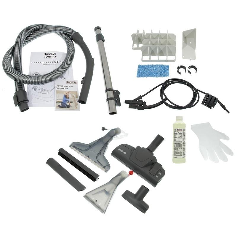 Thomas TWIN T1 Aquafilter – лучший моющий пылесос для плитки