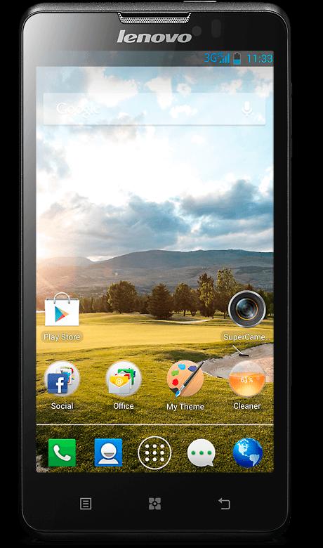Телефон lenovo p780 – лучший телефон для игр