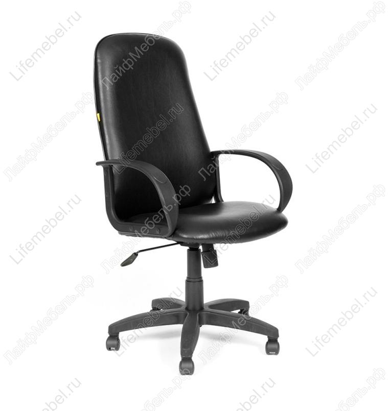 Компьютерное кресло 279 M Черное эко-кожа