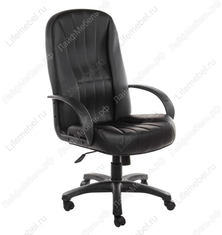 Компьютерное кресло CH767 черное из экокожи
