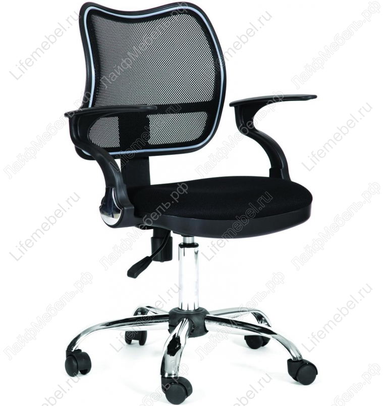 Компьютерное кресло Chairman 450 chrom (хром) TW-11 / TW-01