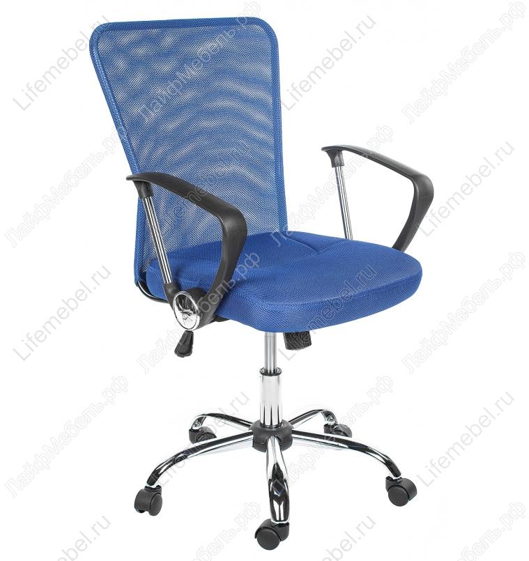 Компьютерное кресло Luxe синее