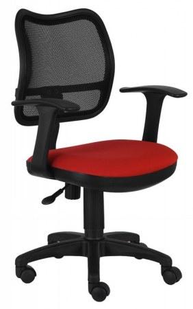 Кресло Бюрократ CH-797AXSN красный