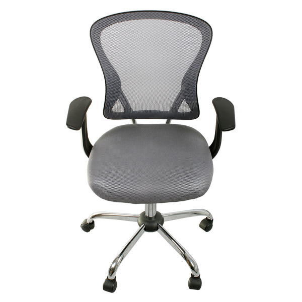 Кресло компьютерное College H-8369F Grey