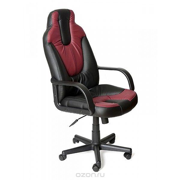 Кресло компьютерное Neo 1 черный/бордовый