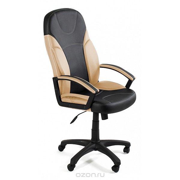Кресло компьютерное Twister черный/бежевый