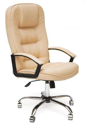 Кресло TetChair СН9944 хром/бежевый