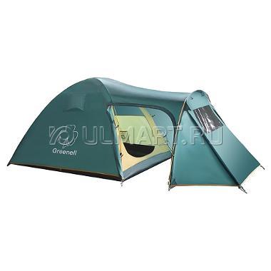 Палатка GREENELL Каван 4, зеленый