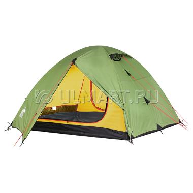Палатка KSL CAMP 4, зеленый