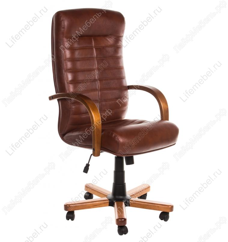 Компьютерное кресло Консул Экстра коричневый / светло коричневый