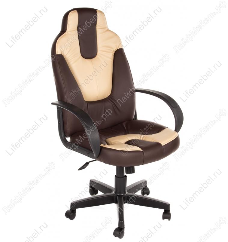 Компьютерное кресло «НЭО 1» (Neo 1) коричневый / бежевый