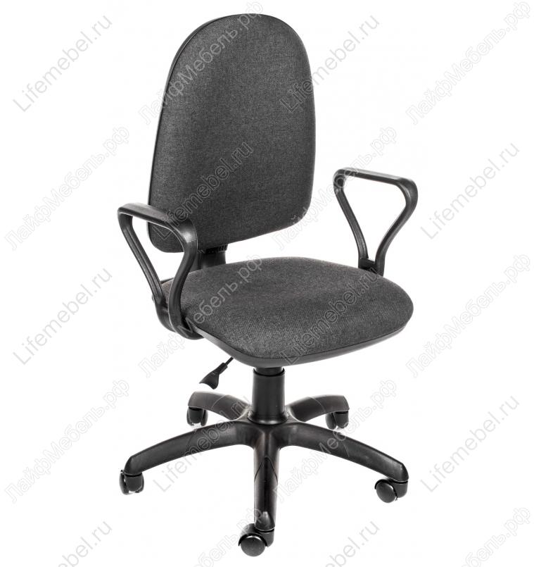 Компьютерное кресло Престиж серый