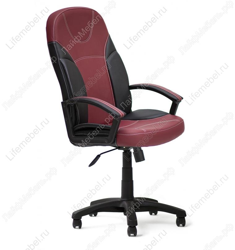 Компьютерное кресло «Твистер» (Twister) черное / бордо