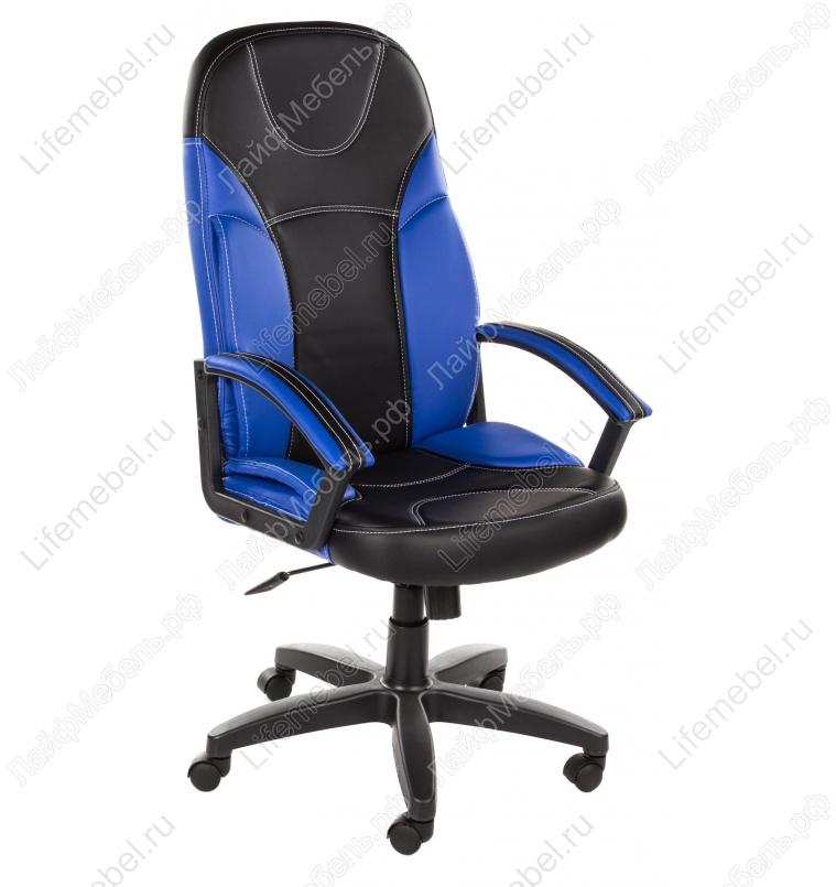 Компьютерное кресло «Твистер» (Twister) черное / синее