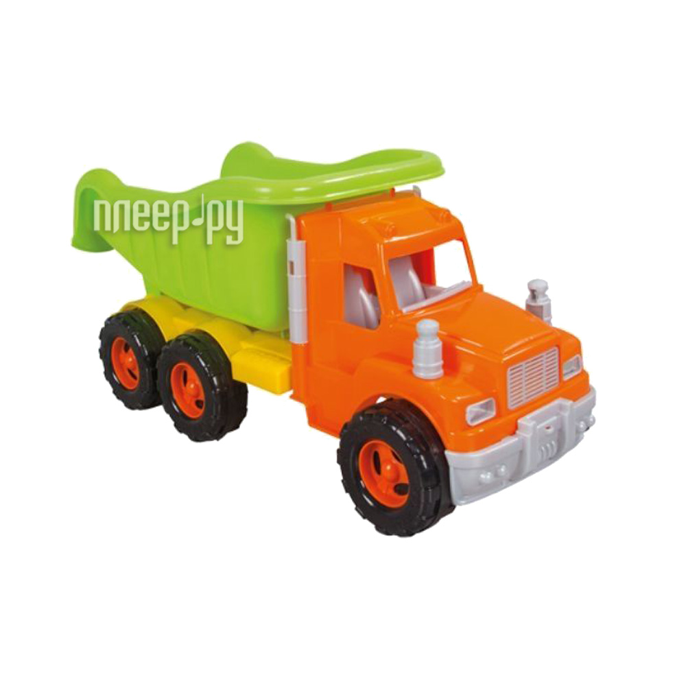 Pilsan Mak Truck Green-Orange 06-611