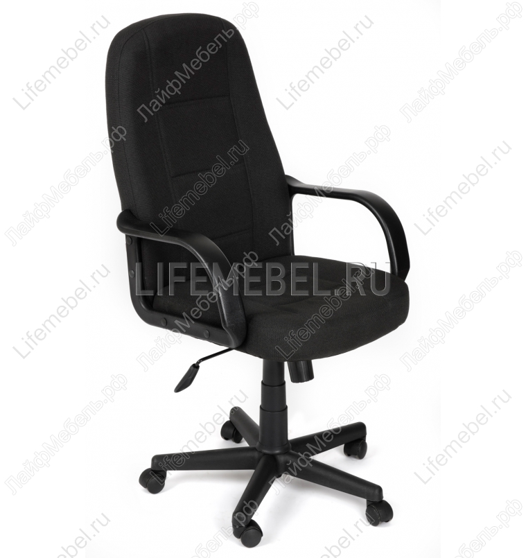 Компьютерное кресло CH747 черный, ткань