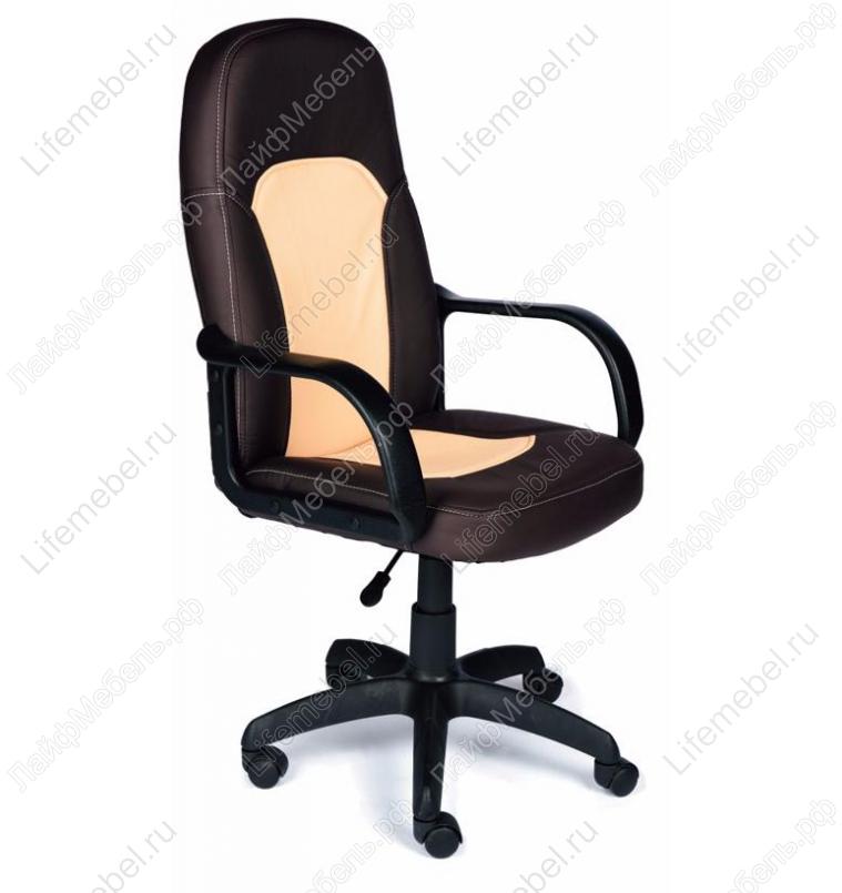 Компьютерное кресло «Парма» (Parma) коричневый / бежевый