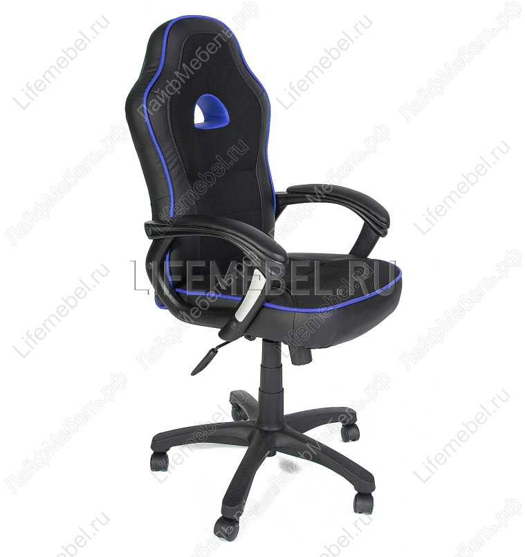 Компьютерное кресло «Шамми» (Shummy) черный / синий