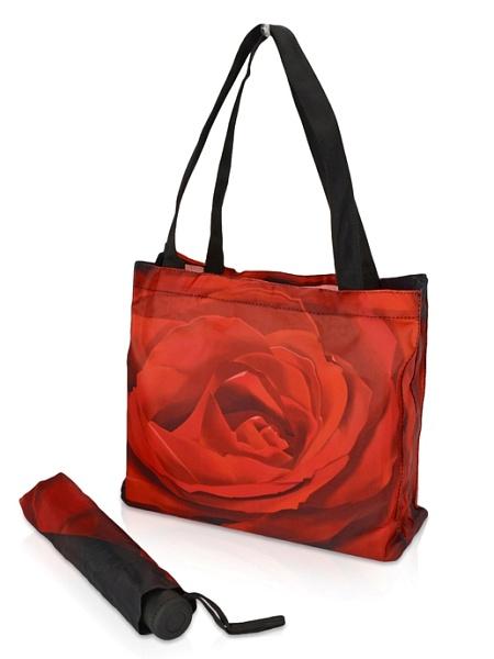 """Зонт и сумка """"Роза"""""""
